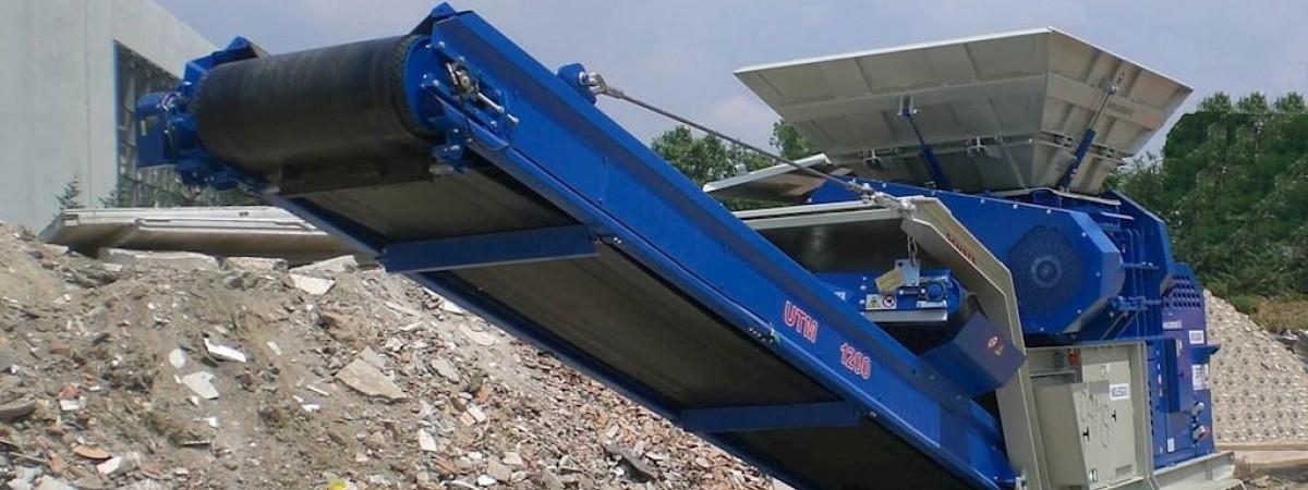 Cams UTM1200 Bauschuttschredder