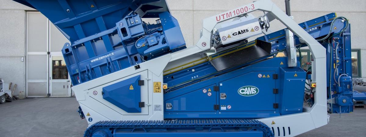 Cams UTM1000 Bauschuttschredder