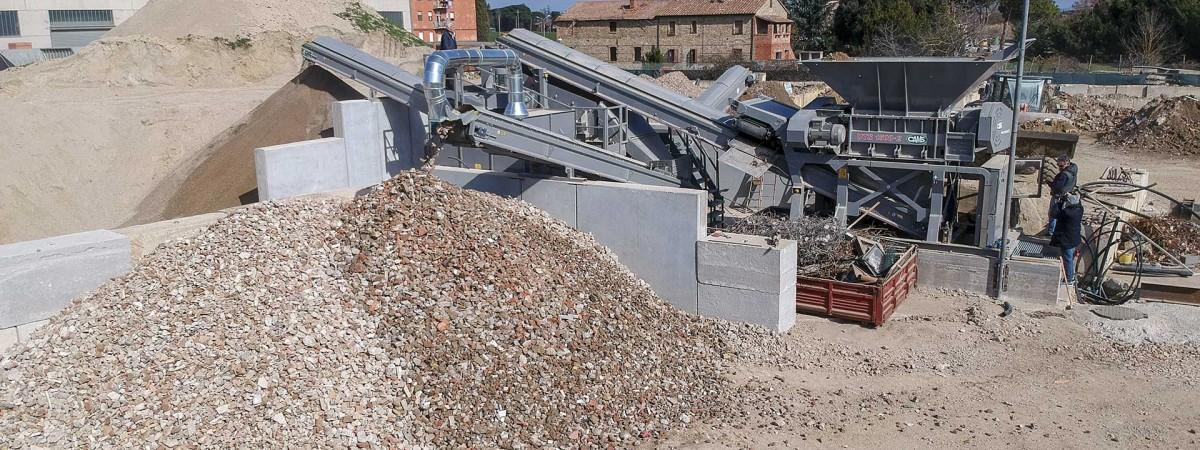 Cams UTS1500 Bauschuttschredder