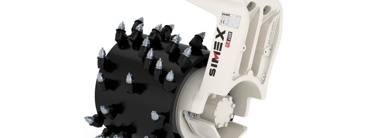 Simex PLB/PHD und TFC Baggerfräsen