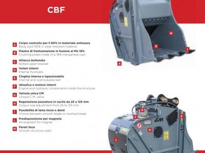 CBF07 Baggerklasse 13-20 Tonnen