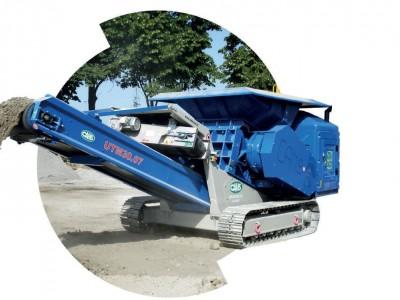 Cams  UTM 750 Bauschuttschredder