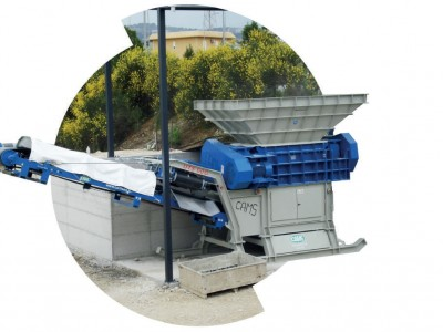 Cams UTS1200 Bauschuttschredder