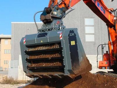 CDS15 Seperatorschaufel Baggerklasse 15-23 Tonnen