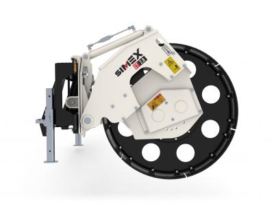 Simex CT Verdichterrad für Lader und Bagger