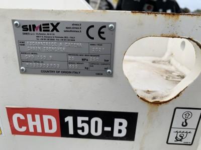 Simex CHD150 Grabenfräse für Minibagger