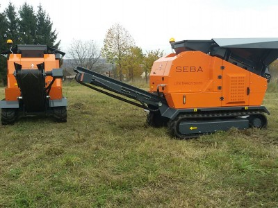 LITE TRACK 50-30 Mini Backenbrecher / Minibrechanlage