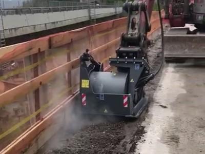 FSE45.15 Baggerfräse Anbaufräse Bgger 9-12 Tonnen