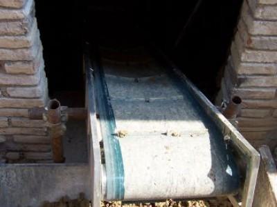 Förderbänder in Stahl oder Allu