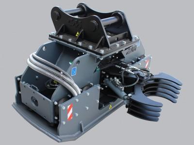 PV30.60 Baggerklasse 3-6 To. Anbauverdichter
