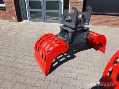 Wacker Niroc Sortiergreifer für 8 Tonnen Bagger