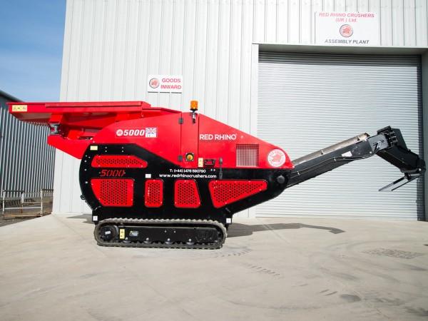 Brechanlage 3 To. Eigengewicht Diesel