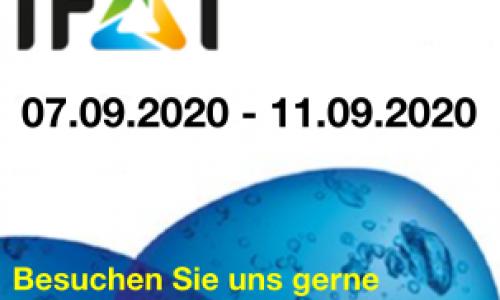 IFAT wird verschoben - neuer Termin im September 2020