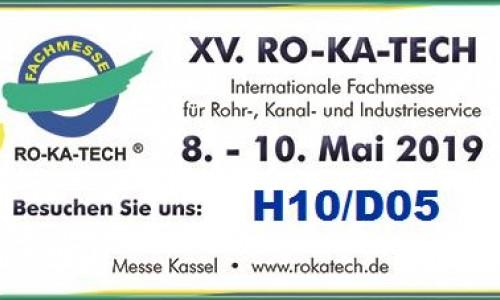 Besuchen Sie uns auf der RO-KA-TECH in Kassel.